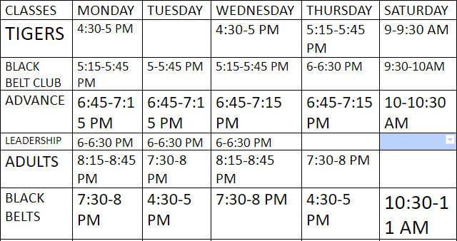 ata-black-belt-taekwondo-schedule