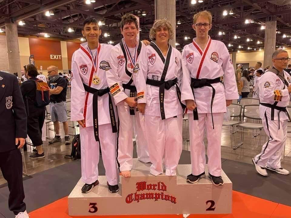 Joan Cather ATA World Champion